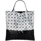 ISSEY MIYAKE 三宅一生BAOBAO鋁合金10x10雙色手提包(銀黑色)