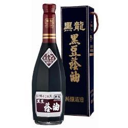 黑龍 特級黑豆蔭油-純釀清油(600ml)