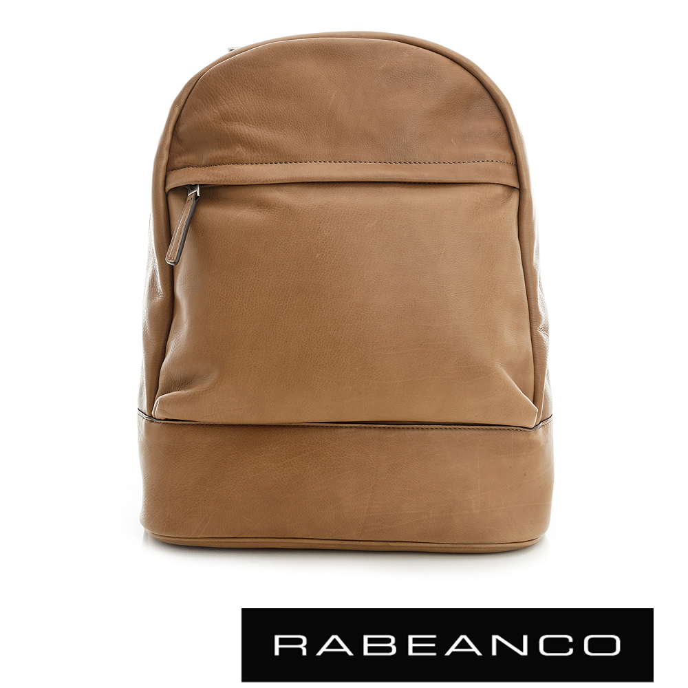 RABEANCO迷時尚牛皮系列柔軟後背包駝