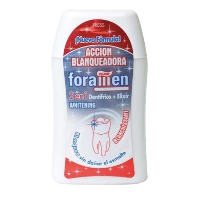 西班牙Foramen <b>2</b>合1濃縮牙膏漱口水100ml/120g(美白)