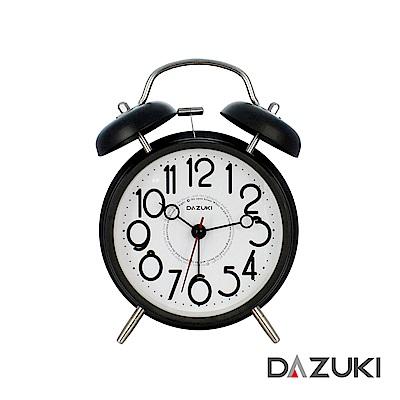 DAZUKI 金屬靜音夜燈鬧鐘 LA-201