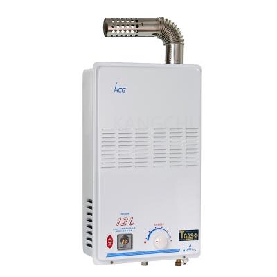 和成HCG 彩晶顯示純銅水箱強制排氣熱水器(GH585K)