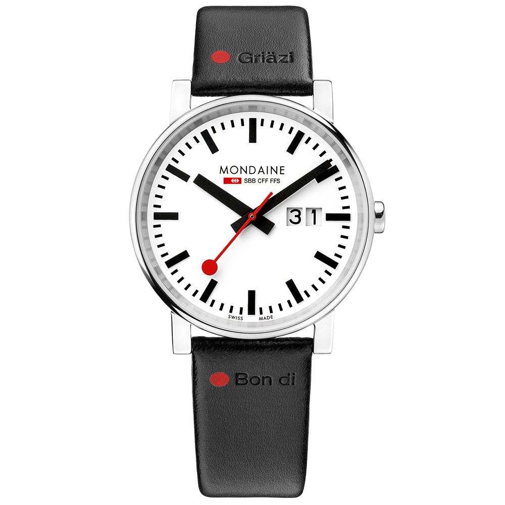 MONDAINE瑞士國鐵Gottardo聖哥達隧道開通限量紀念錶40mm