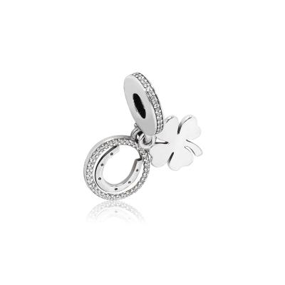 Pandora 潘朵拉 魅力鑲鋯幸運日 純銀墜飾 串珠