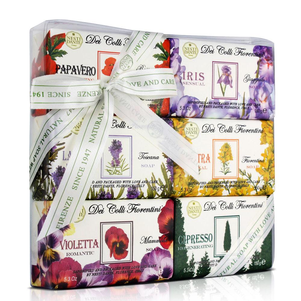 Nesti Dante 天然花妍禮盒(150g×6入)
