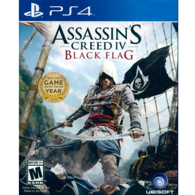 刺客教條4:黑旗 Assassin's Creed 4-PS4 英文美版