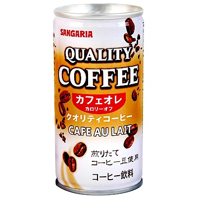 SANGARIA QUALITY咖啡歐蕾飲料(185g)