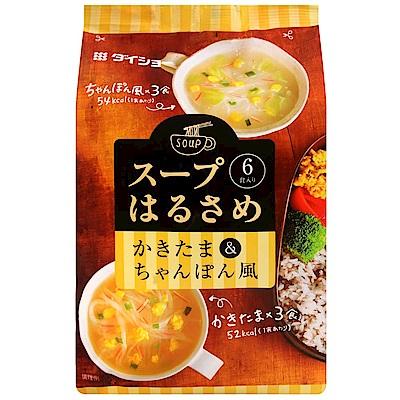 Daisho 即食冬粉湯-蛋花湯&什錦麵風味(97.5g)
