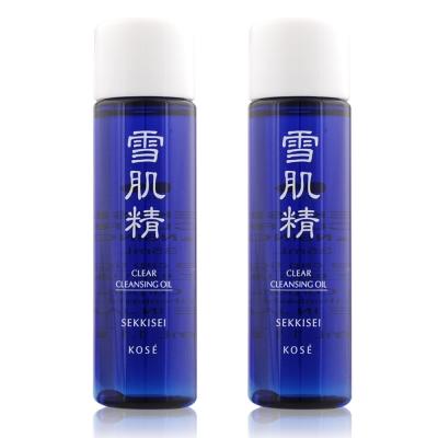 KOSE 高絲 雪肌精淨透潔顏油(35ml)X2入