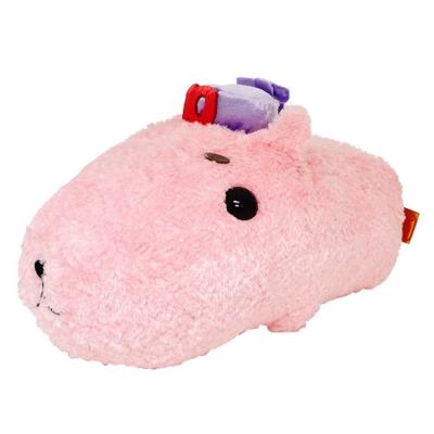 Kapibarasan 水豚君10周年毛絨大公仔水豚君。30cm