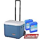Coleman CM-31628海洋藍 47L Xtreme拖輪保冷冰箱+冷媒*2 公司貨