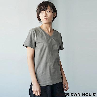 AMERICAN HOLIC 定番V領短袖T恤