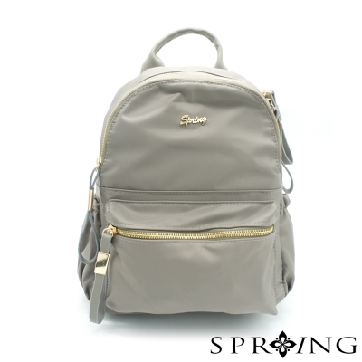 SPRING-偶然相遇的輕量後背包-典雅鐵灰