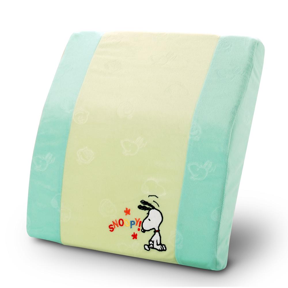 【SNOOPY】記憶護腰墊-綠
