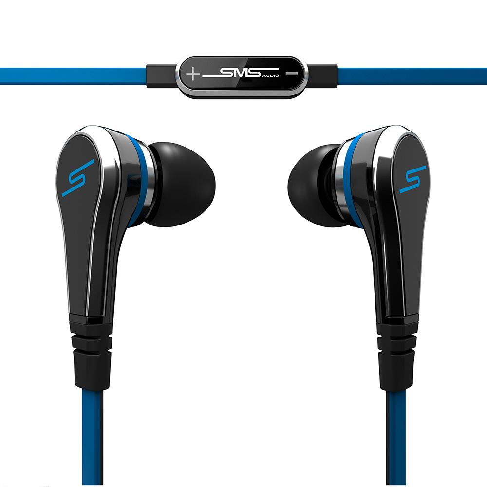 SMS STREET by 50 In-Ear Wired 入耳式耳機 (藍黑)