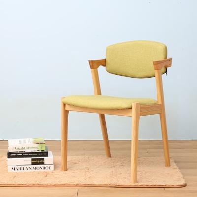 Jiachu 佳櫥世界-Job嘉柏實木餐椅/二色-寬48x深56x高79cm