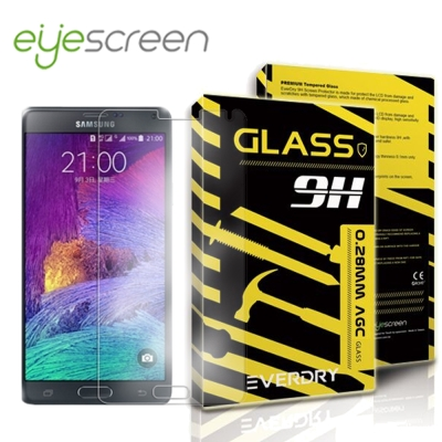 EyeScreen Samsung Note 4 Everdry AGC 玻璃保...