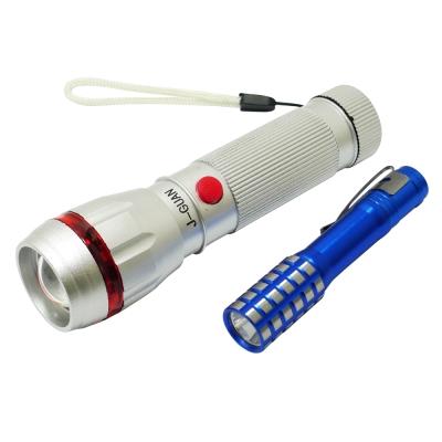 金靈獅 8W+3W亮度LED調焦式手電筒 GSL-F8W30