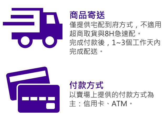 商品寄送與付款方式