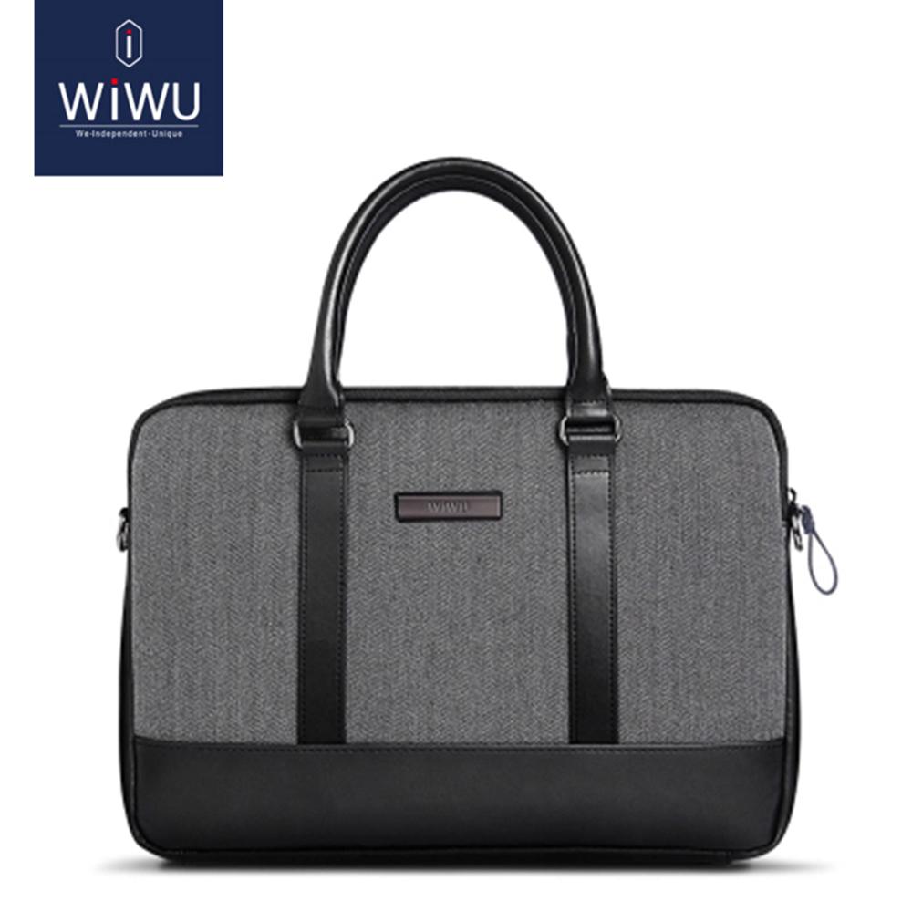 WIWU 13.3吋英倫風手提式筆電包商務電腦包保護套