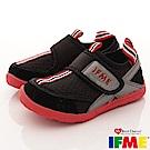 IFME健康機能鞋 排水速乾款 EI01830黑(小童段)