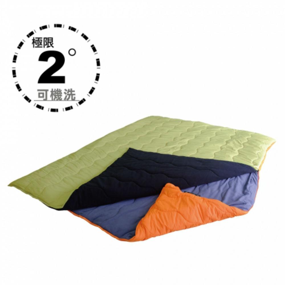 100MOUNTAIN H606D 2IN1 二合一化纖睡袋
