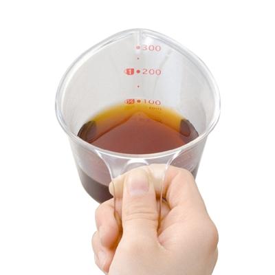日本製造inomata耐熱級300ml量杯2入裝
