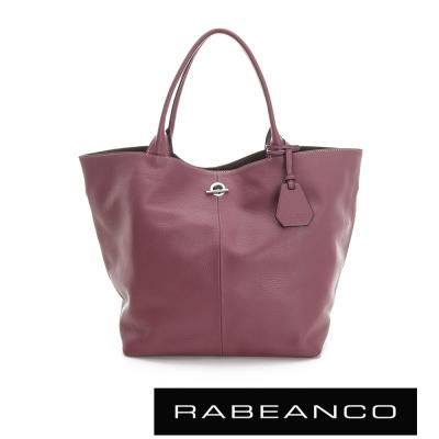 RABEANCO-Classic經典系列肩背包-大-酒紅紫