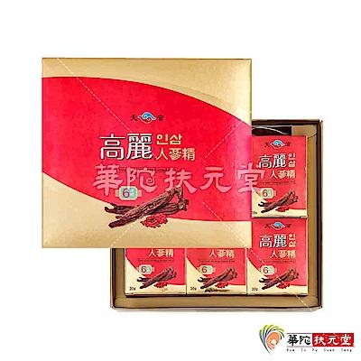 華陀扶元堂天官 高麗人蔘精1盒(6瓶/盒)