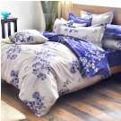 Grace Life 幸福如夢 精梳純棉雙人全鋪棉床包兩用被四件組