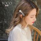 東京著衣-yoco 優雅復古珍珠水鑽髮夾(共二色)