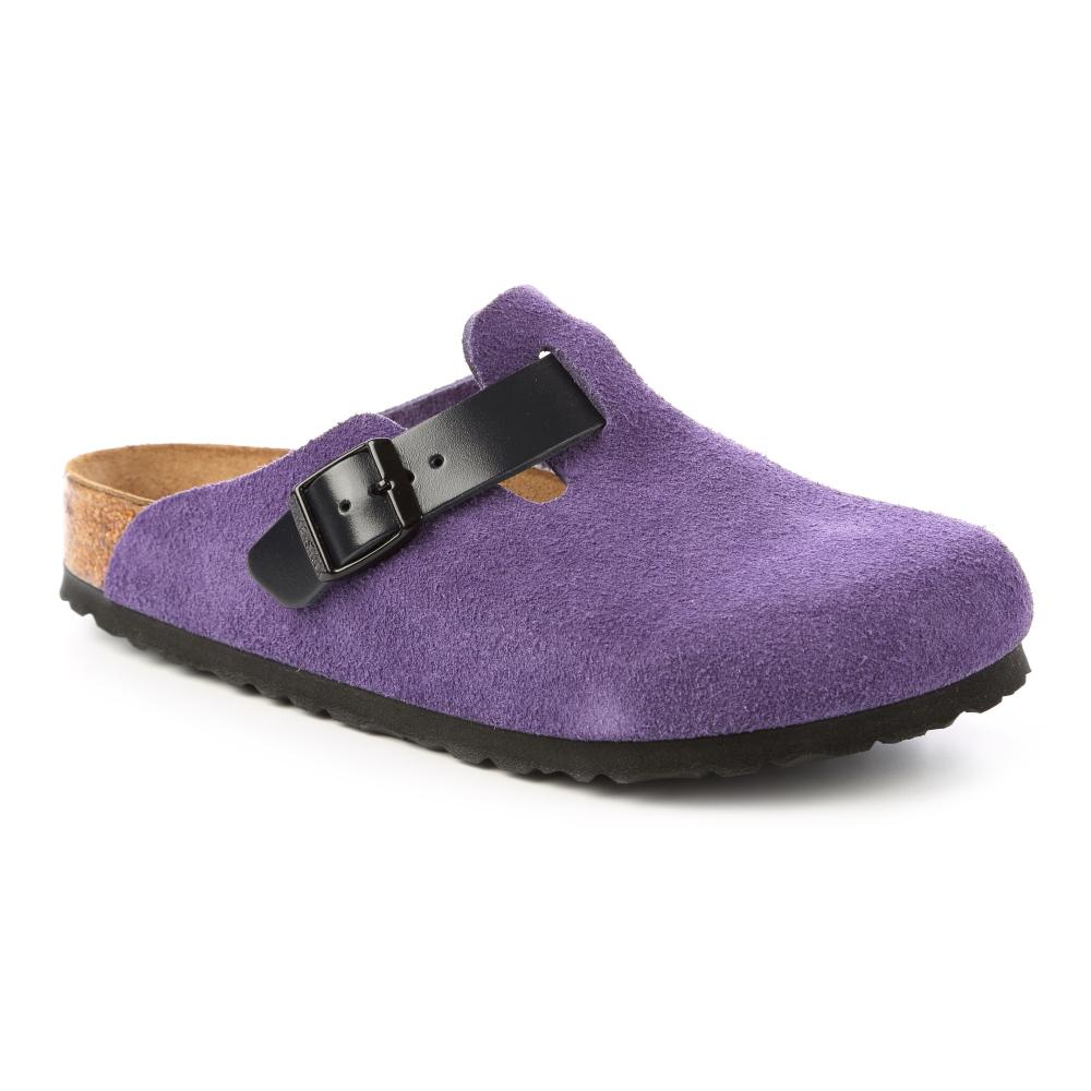 勃肯BIRKENSTOCK 259081。BOSTON波斯頓 包頭拖鞋(紫)