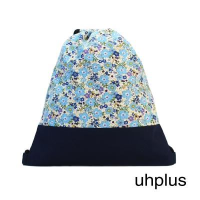 uhplus 小旅行束口背包 Basic-法蘭西桔梗花園
