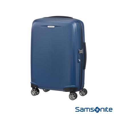Samsonite新秀麗-20吋Starfire飛機輪TSA防刮耐磨PC登機箱-藍