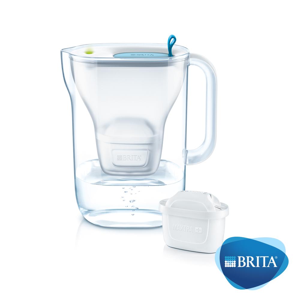 德國BRITA Style濾水壺3.6L+4入MAXTRA+濾芯(共5芯)
