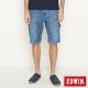 EDWIN 迦績褲JERSEYS角袋工作短褲-男-石洗藍 product thumbnail 2
