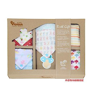 YoDa 寶貝日本紗口水兜巾禮盒-優雅款(限量透氣版)(花色隨機出貨)