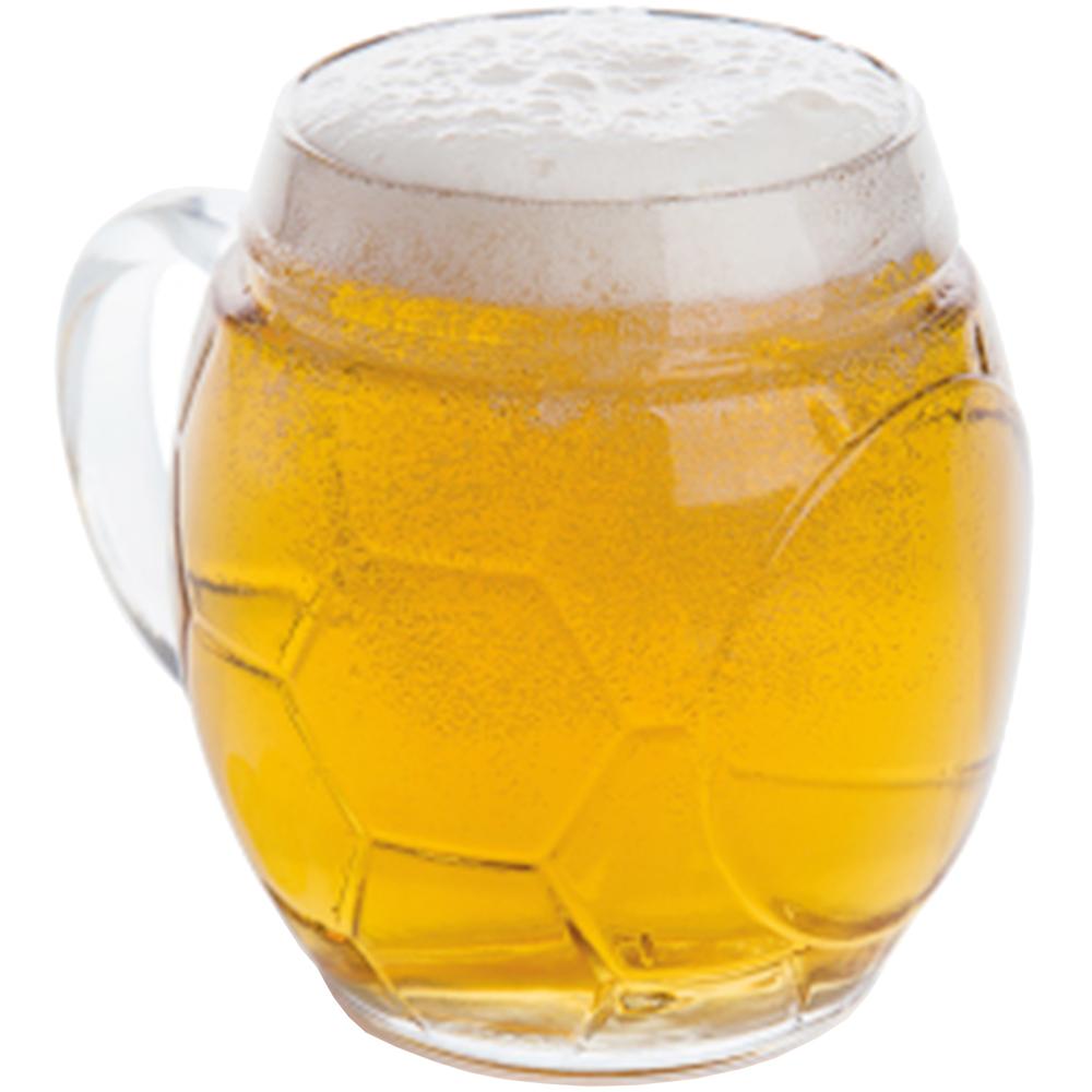 EXCELSA Sport造型啤酒杯(足球650ml)