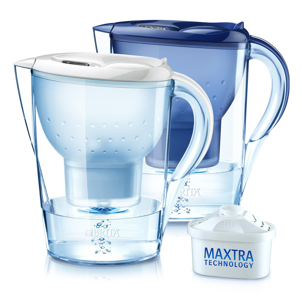 【1壺5芯】德國BRITA Marella馬利拉3.5L濾水壺+4支濾芯