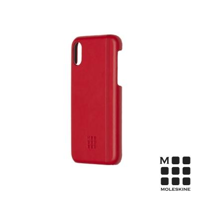 MOLESKINE iPhone X 經典硬殼套-紅