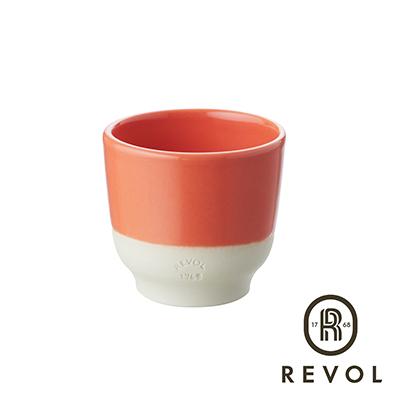 法國REVOL-Color-Lab-雙色杯80橘
