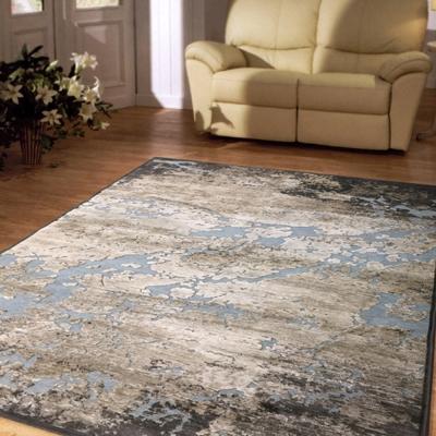 范登伯格 - 維拉 現代絲質地毯 - 版圖 (160 x 230cm)