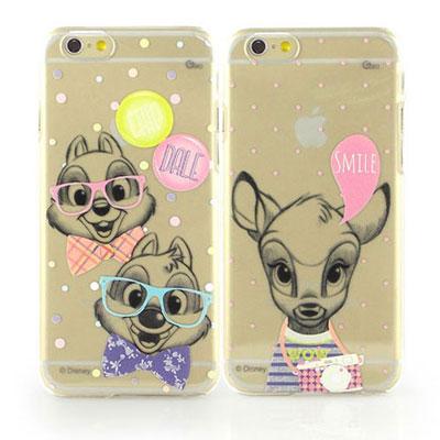Disney iphone 6 /6s 彩繪素描風透明保護手機殼