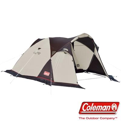 美國-Coleman-氣候達人雙人帳220x150-炊事帳-露營帳篷-客廳帳-公司貨