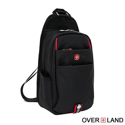 OVERLAND-美式十字軍x多隔層機能款可調式單肩包