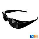 Lafan騎士偏光太陽眼鏡 潮流黑經典偏光太陽眼鏡(抗UV400/套鏡)