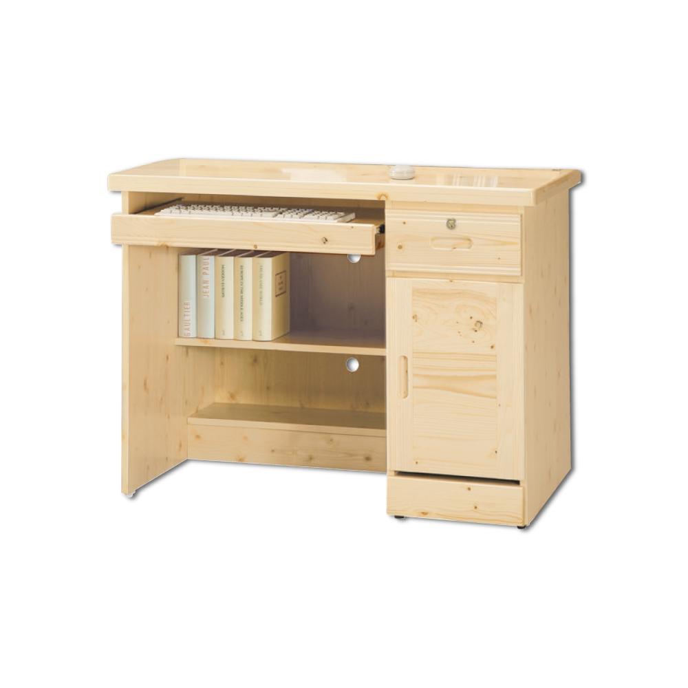AS-寇蒂斯3.2尺松木電腦桌