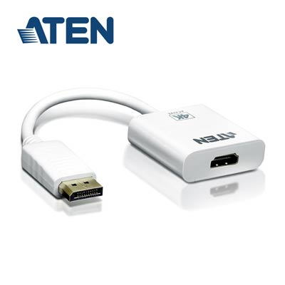ATEN 4K DisplayPort 轉HDMI主動式轉接器(VC986)