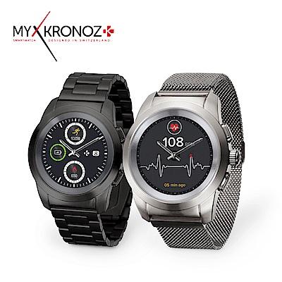 MyKronoz ZeTime 機械指針觸控智慧錶 -鋼帶