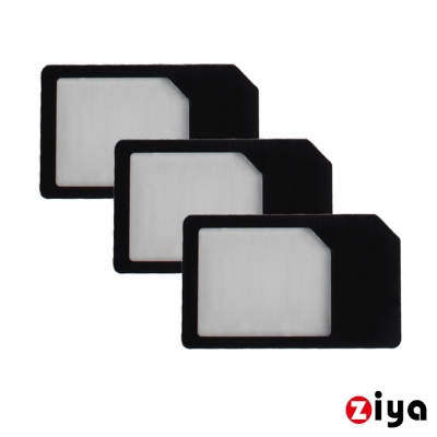 ZIYA 智慧型手機 平板電腦 SIM 轉接卡  Micro轉 卡 X3入
